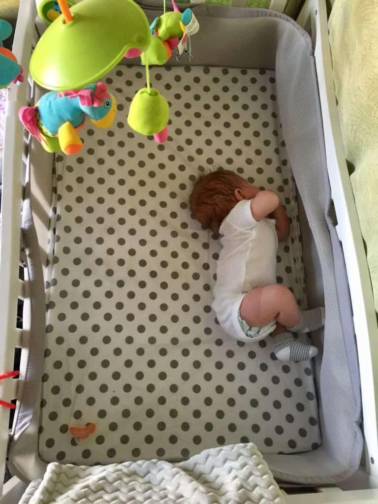 RV Nursery Mini Crib