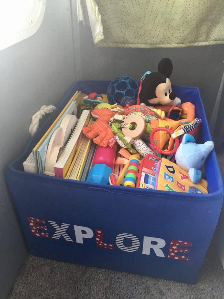 RV Nursery Toys