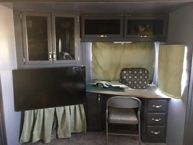 RV Renovation:  Craft Space