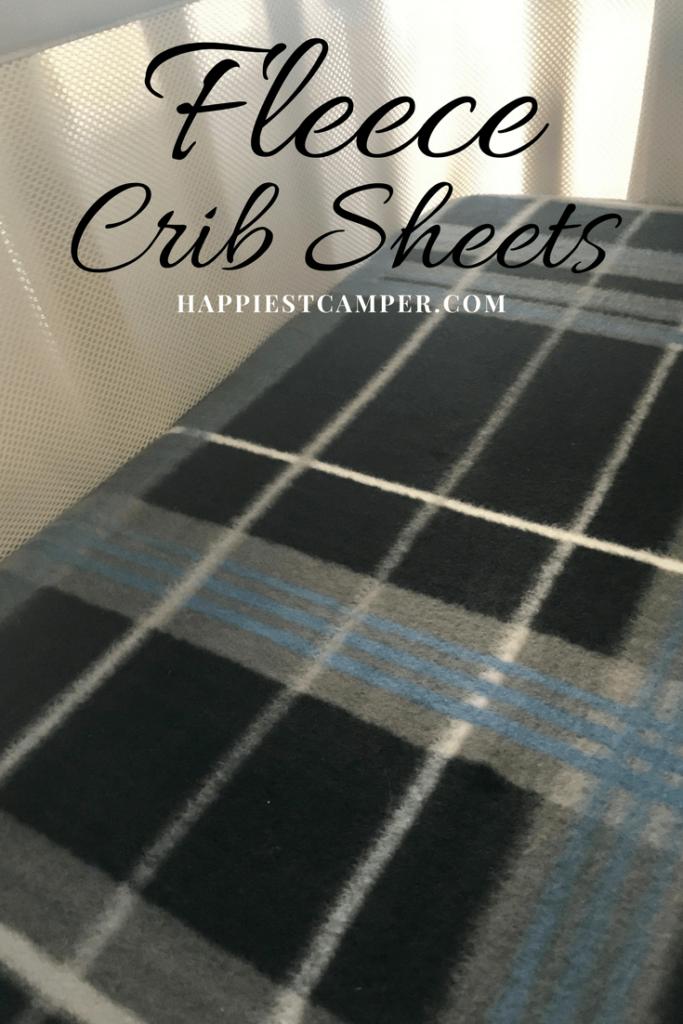 Fleece Crib Sheets