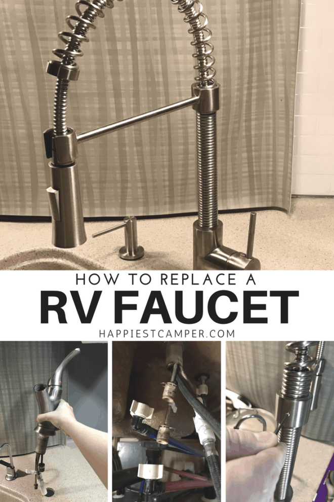 How to Replace a RV Faucet