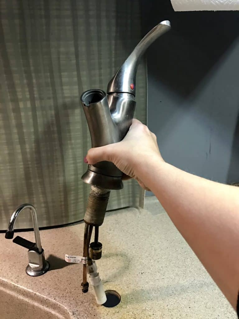 How to Replace a RV Faucet - Happiest Camper