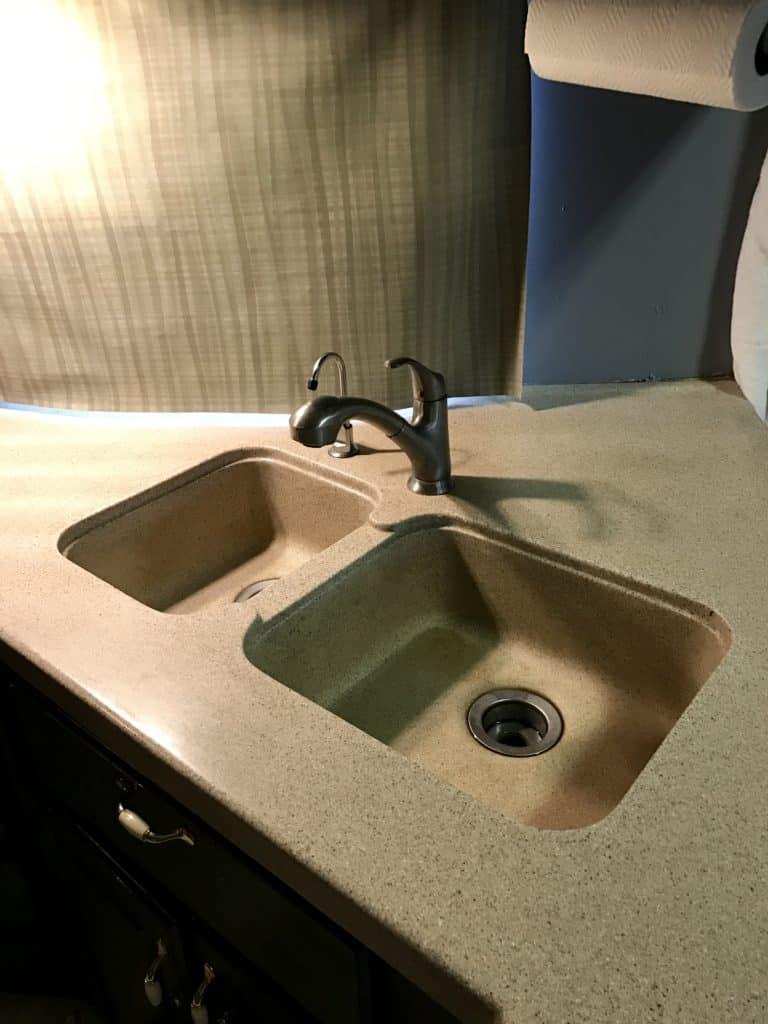 Install RV Faucet