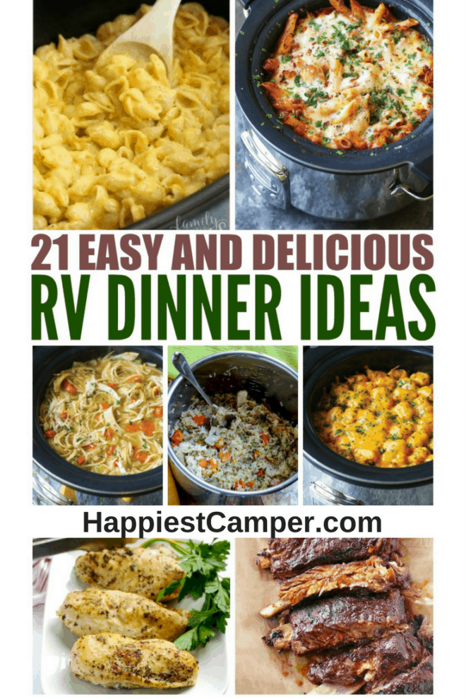 21 Easy and Delicious RV Dinner Ideas