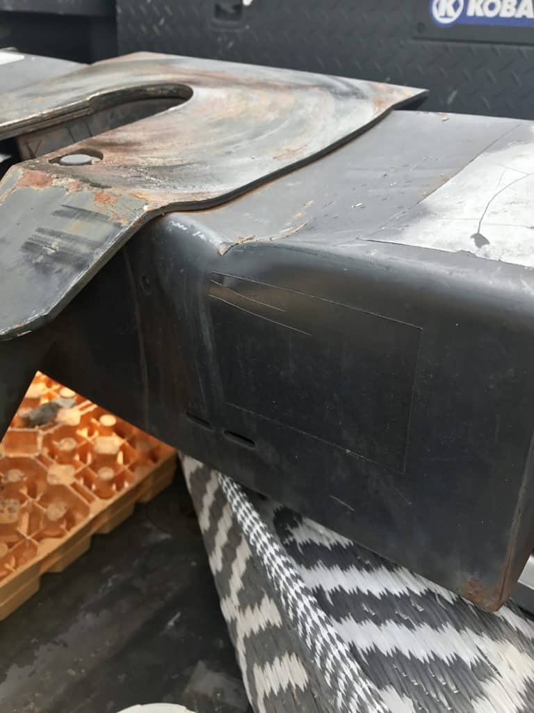 5th Wheel Totaled Hitch Damage