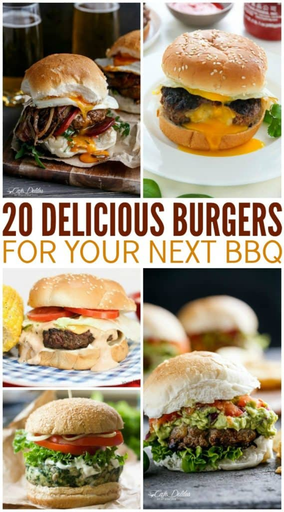 Burger Recipes for BBQ Grill