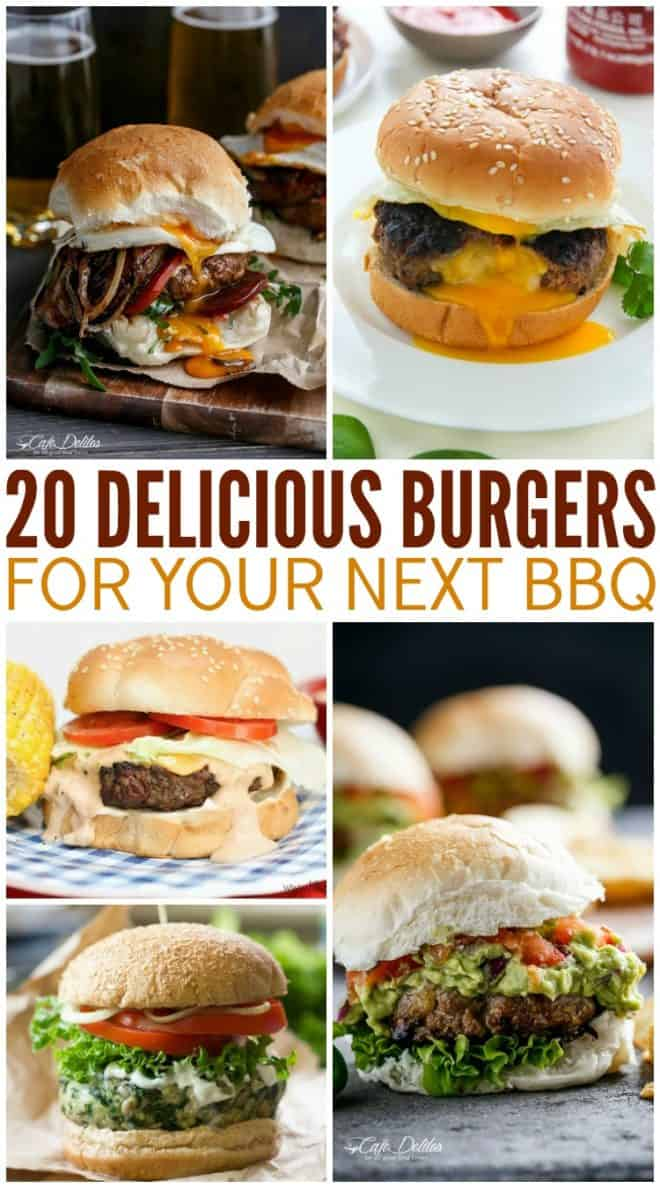 20 Delicious Burgers for Your Next BBQ