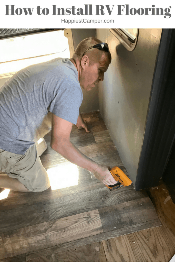 How To Install Rv Flooring Happiest Camper