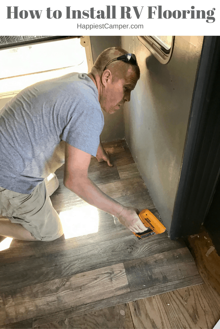 Rv Flooring How To Install Step By Step Happiest Camper