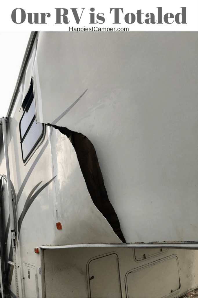 Totaled RV