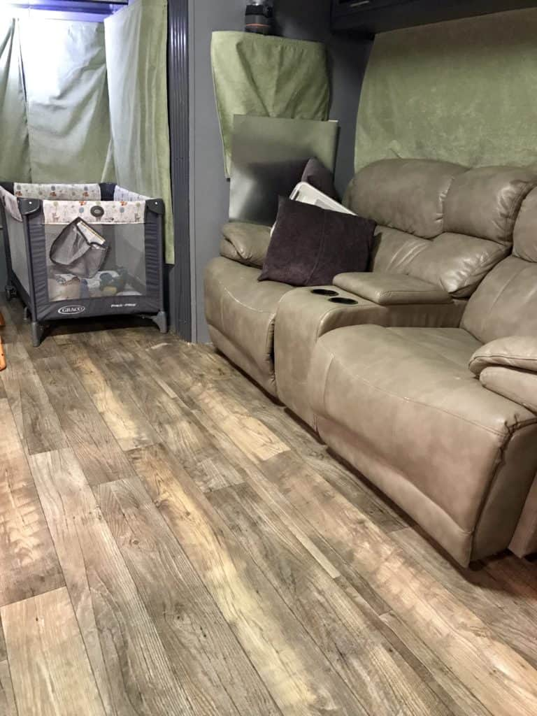 RV Makeover Floor