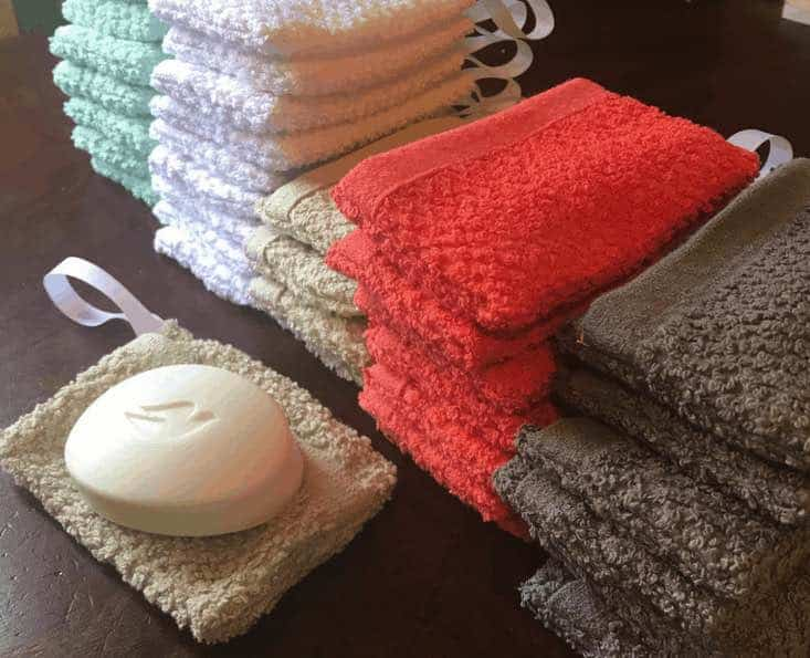 Easy Soap Holder Wash Cloth