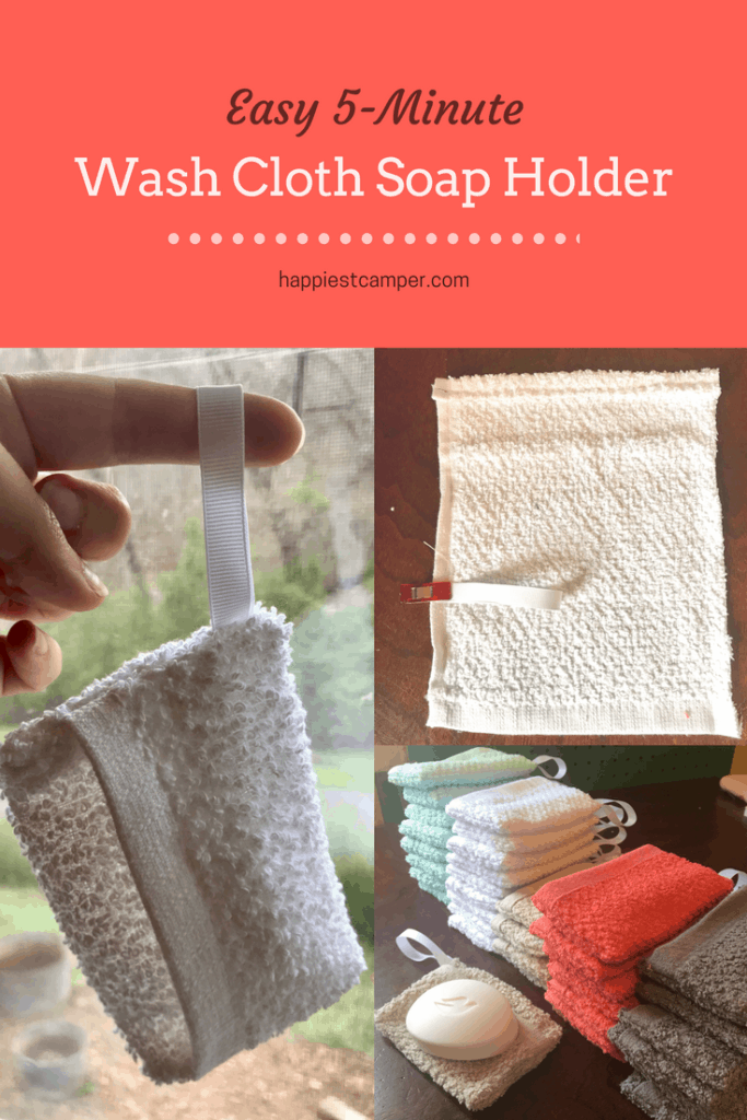 Easy 5 Minute Wash Cloth Soap Holder