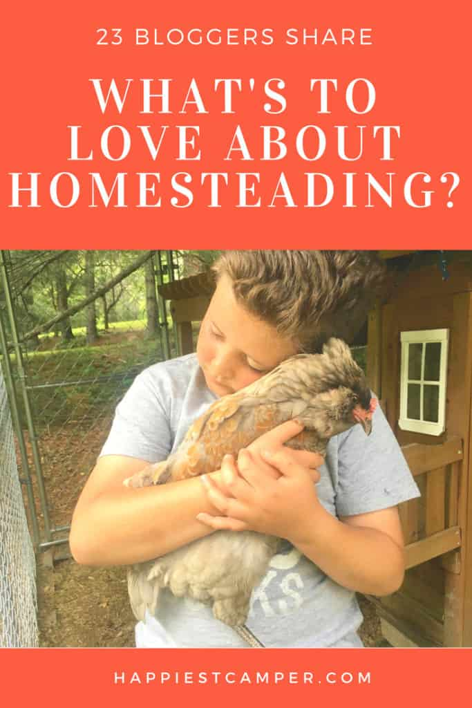 Love About Homesteading