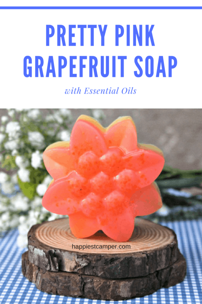 Make Pink Grapefruit Soap