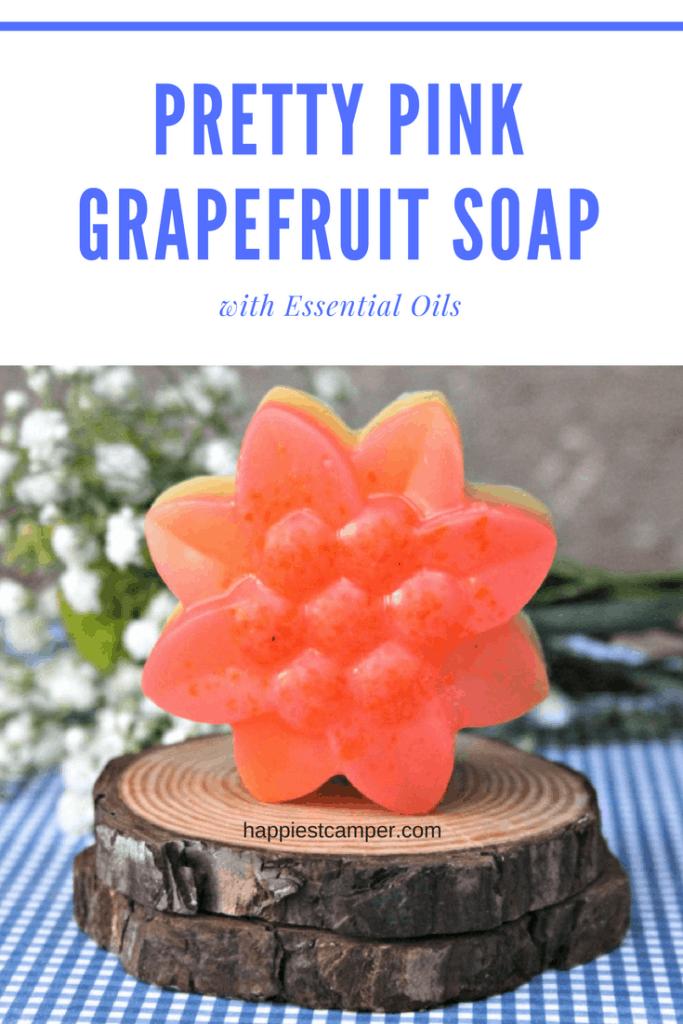 Make Pink Grapefruit Soap