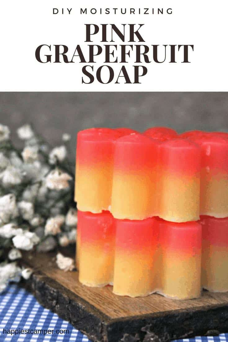 Essential Oil Soap Pink Grapefruit
