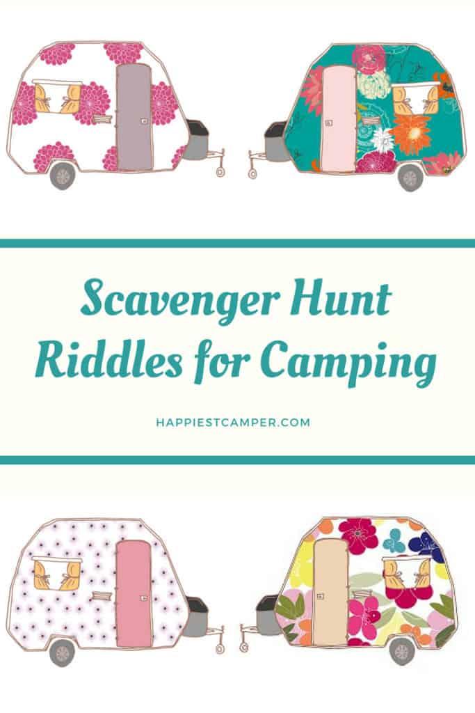 Camping Scavenger Hunt Riddles