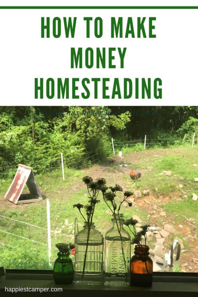 How to make money homesteading