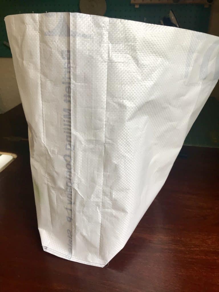 Feed Sack Tote Bag Upcycle