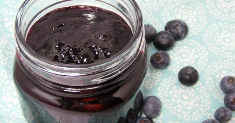 Instant Pot Blueberry Jam with Only 2 Ingredients
