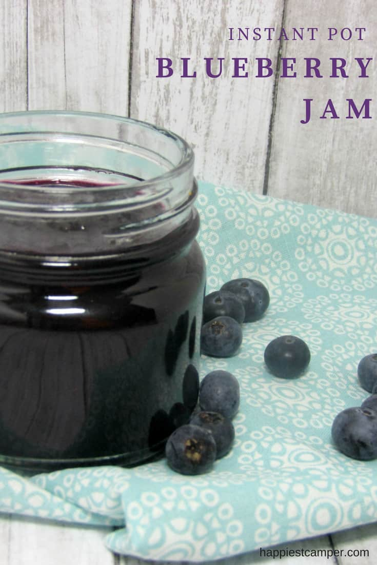Instant Pot Blueberry Jam with Only 2 Ingredients ...