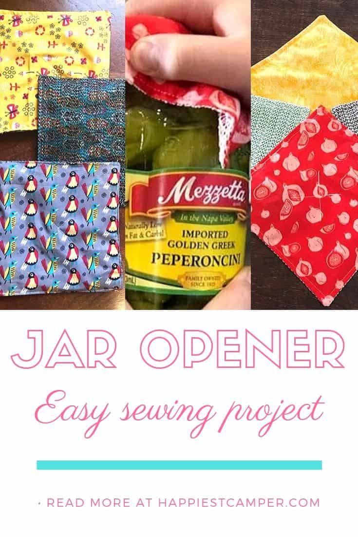 Easy Sew Jar opener