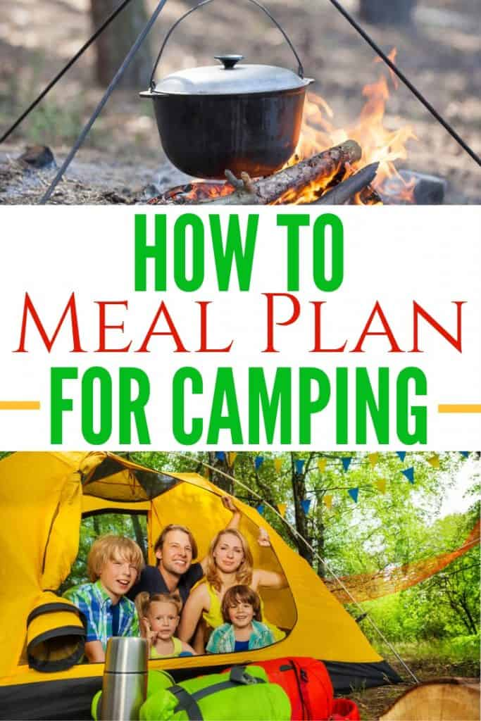How to Meal Plan for Camping