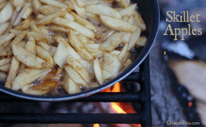 Campfire Skillet Apples Recipe
