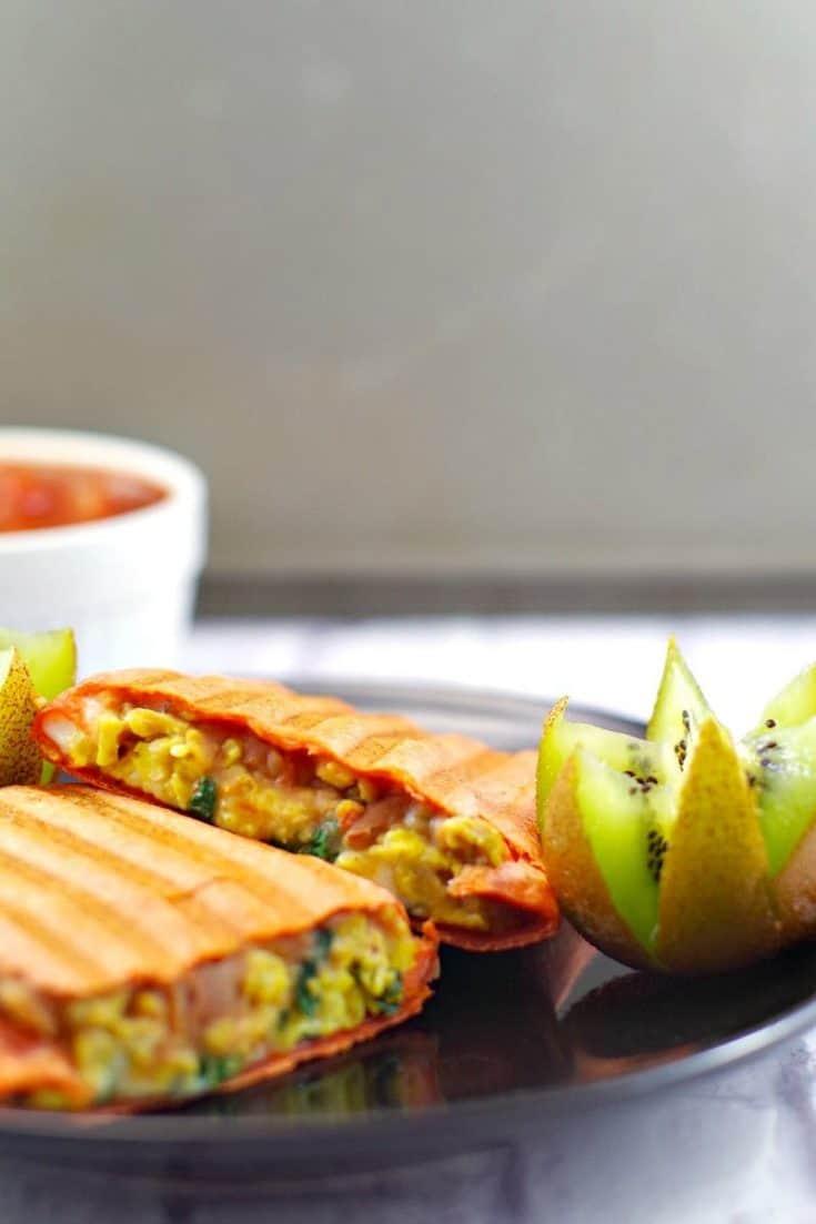 Mediterranean Breakfast Burritos