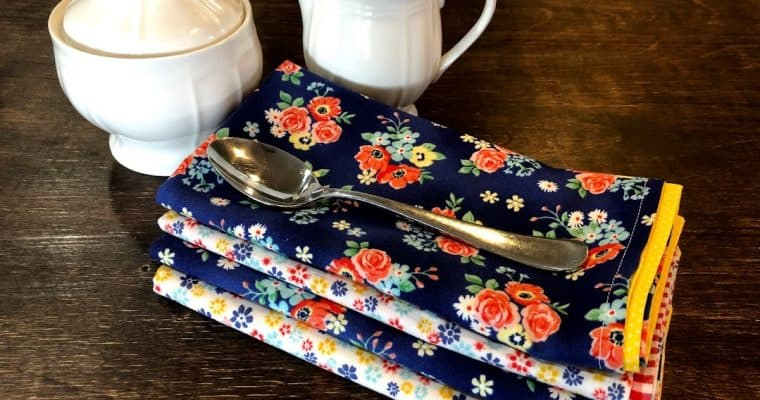 Sew Handmade Cloth Napkins