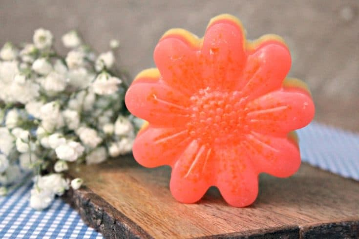 Essential Oil Soap in Moisturizing Pink Grapefruit