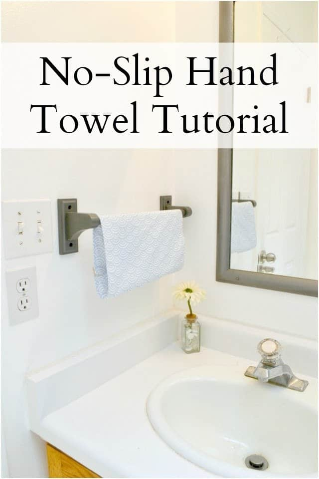 No-Slip Hand Towel Tutorial