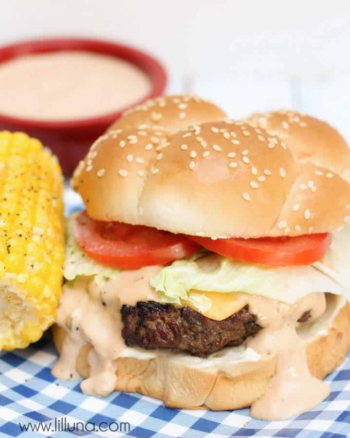 Homemade Ranch Burger Recipe with Secret Sauce