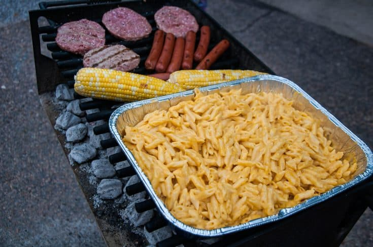Camp Macaroni and Cheese