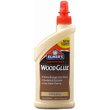Elmer's E7010 Carpenter's Wood Glue, Interior, 8 Ounces (2-Pack)