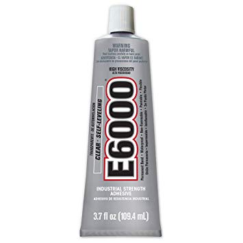 E6000 220011 High Viscosity Adhesive - 3.7 fl. Oz