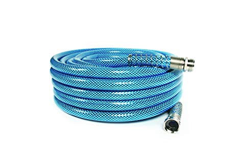 """Camco 50ft Premium Drinking Water Hose - Lead Free, Anti-Kink Design, 20% Thicker Than Standard Hoses (5/8""""Inside Diameter) (22853)"""
