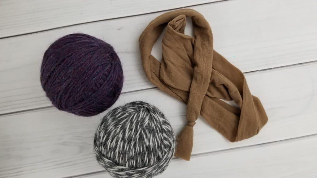 DIY Wool Dryer Balls Step 4