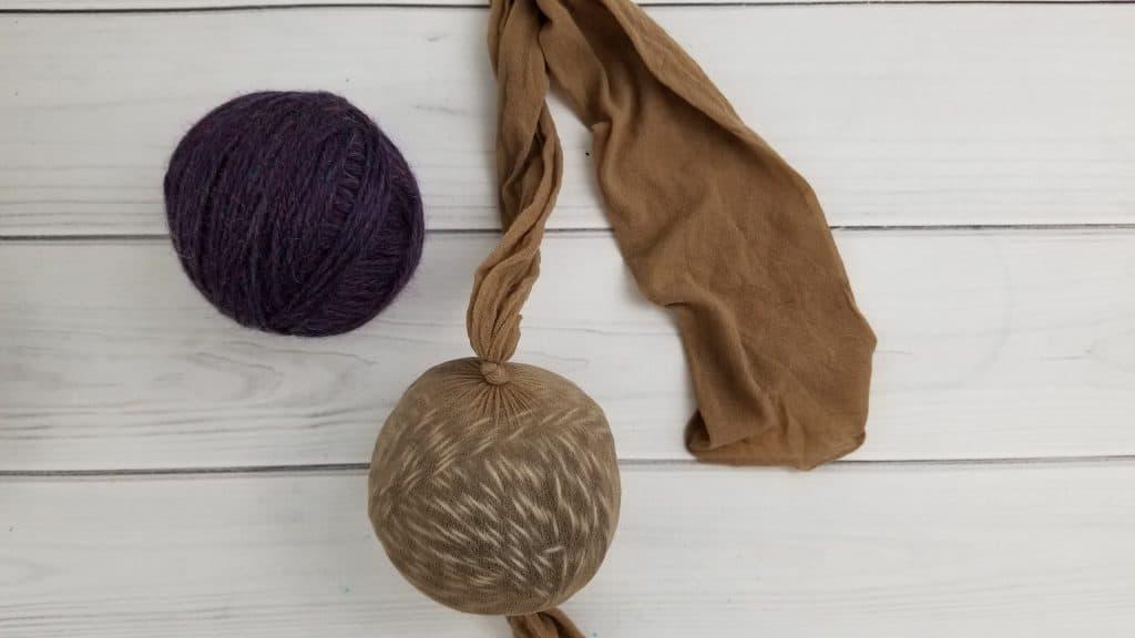 DIY Wool Dryer Balls Step 5
