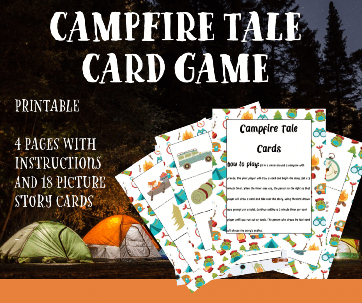 Camping Card Game