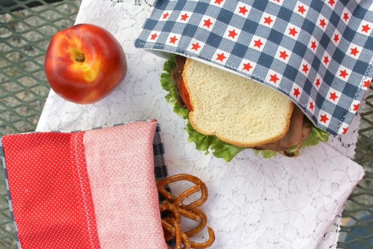 Reusable Snack Bags DIY - Beginner Sewing Projects