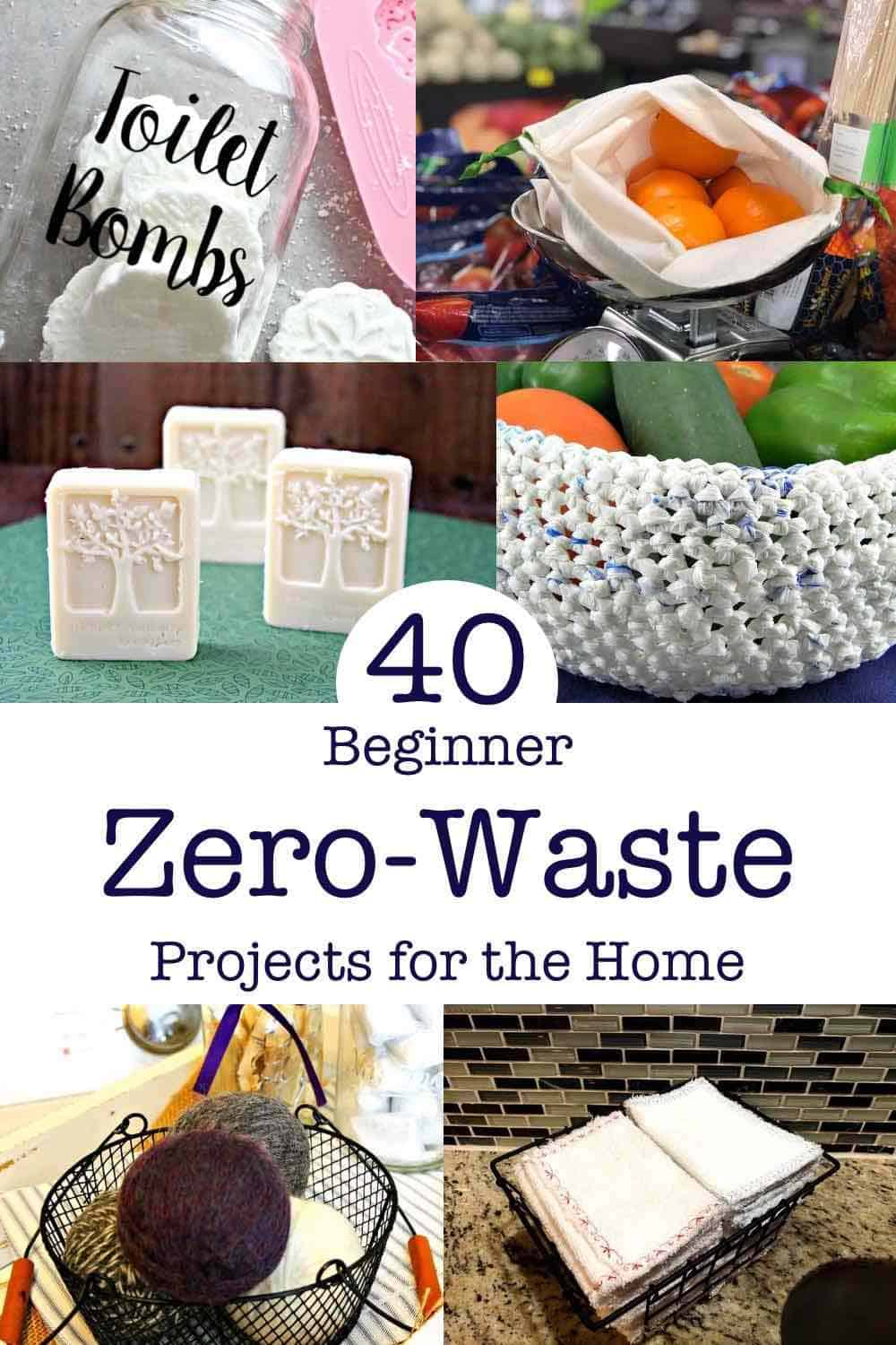 40 Beginner Zero Waste Projects for the Home