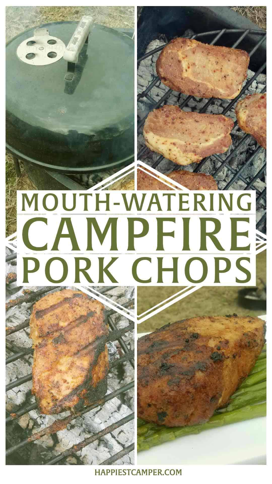 Mouth Watering Campfire Pork Chops