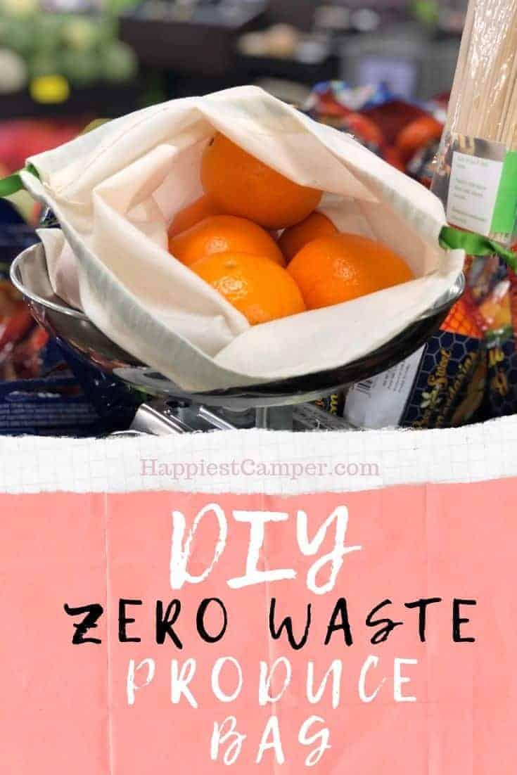 DIY Zero-Waste Produce Bags