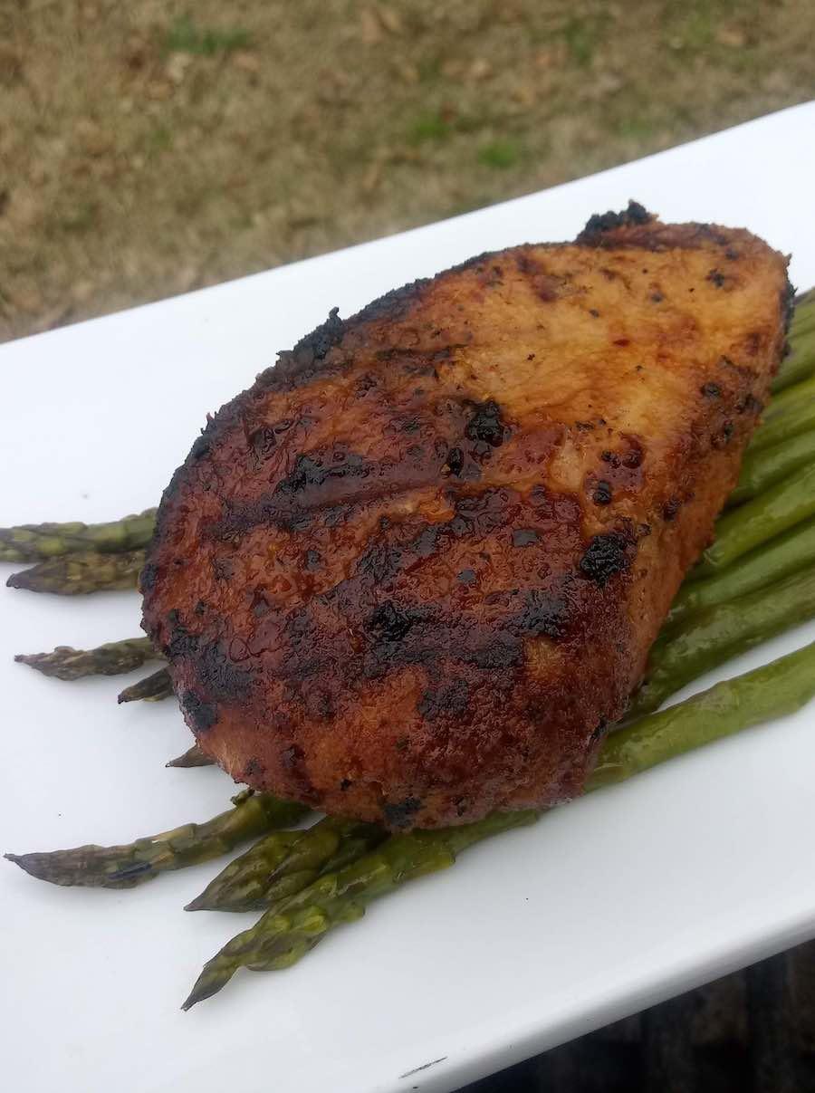 Cooked Pork Chope