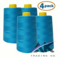 4-Pack Turquoise All Purpose Sewing Thread