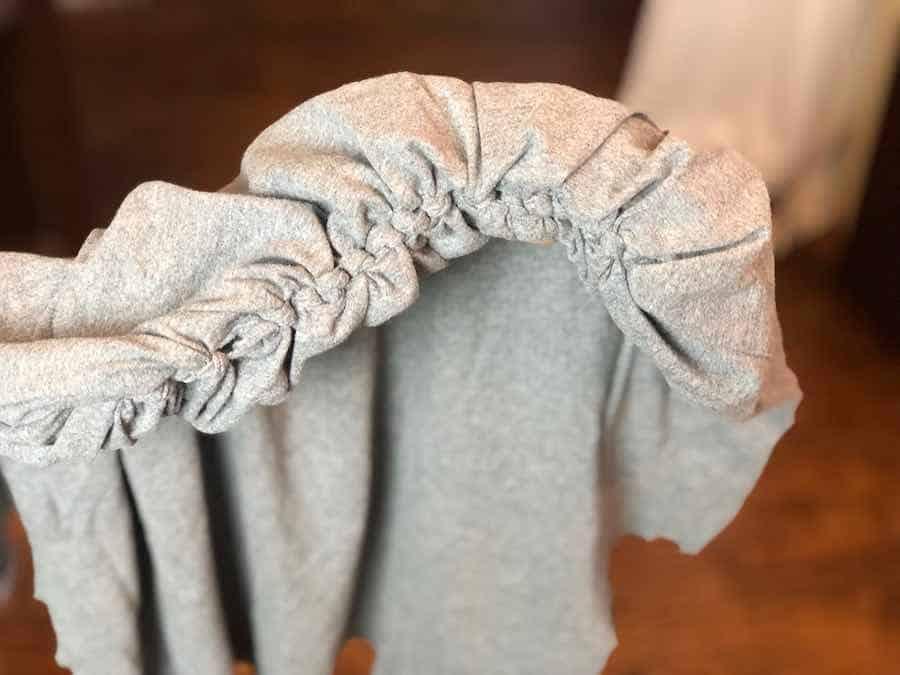 Bottom knots Inside Tote Bag