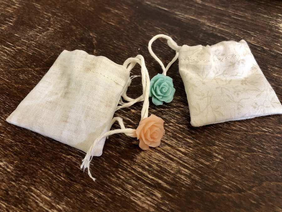 Finished DIY Reusable Tea Bags