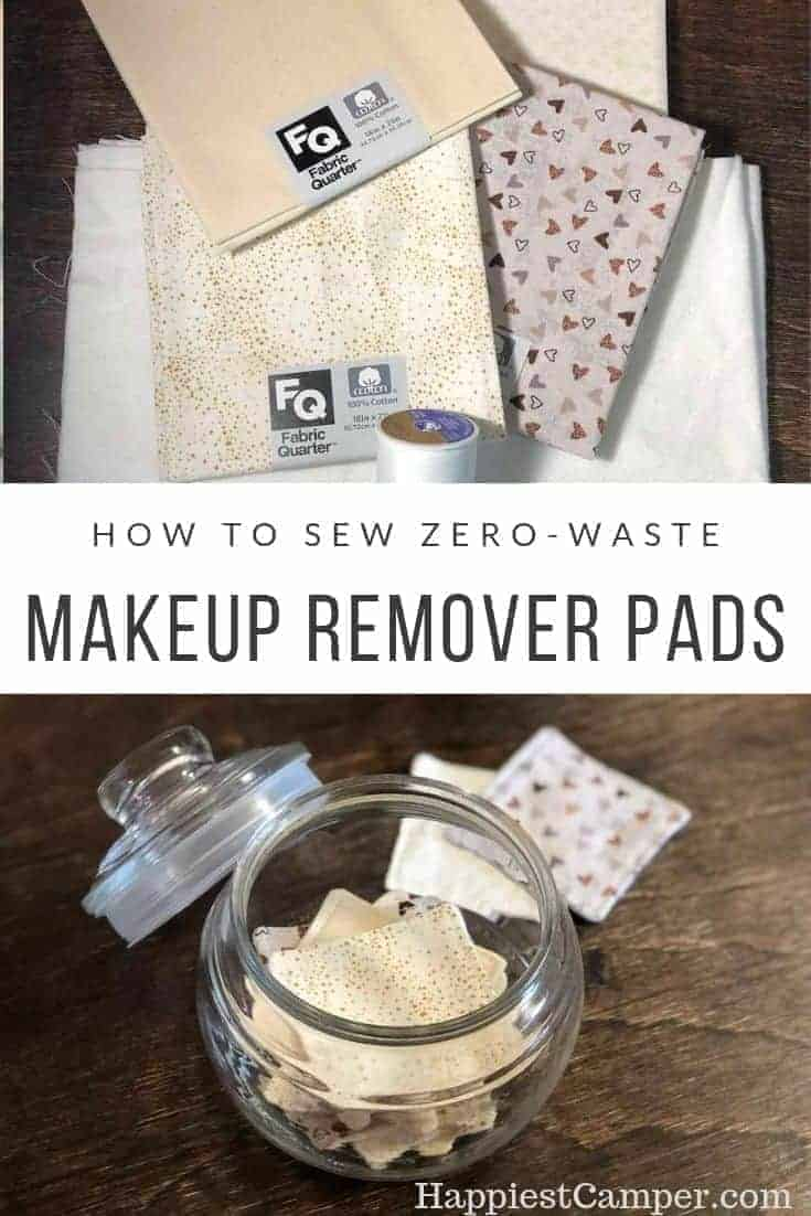 How to Sew Zero Waste Makeup Remove Pads